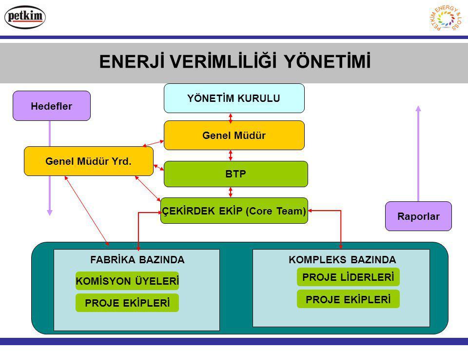 ENERJİ VERİMLİLİĞİ YÖNETİMİ ÇEKİRDEK EKİP (Core Team)