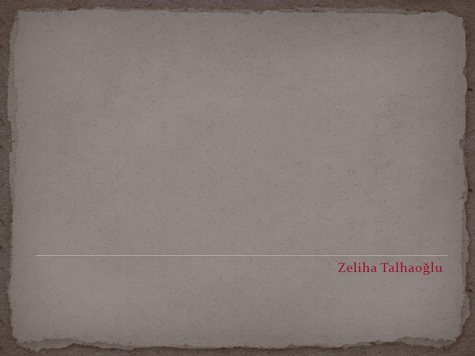 Zeliha Talhaoğlu