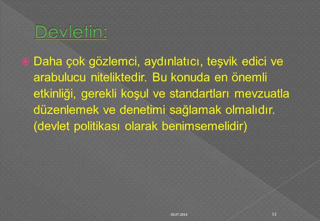 Devletin: