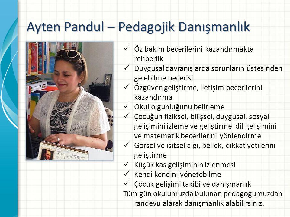 Ayten Pandul – Pedagojik Danışmanlık