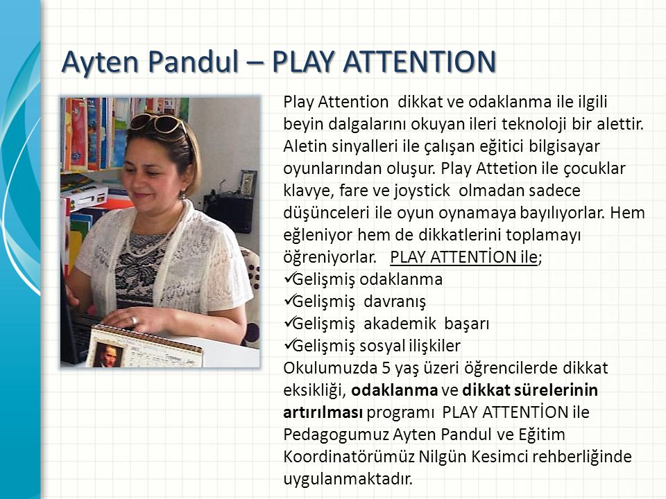 Ayten Pandul – PLAY ATTENTION