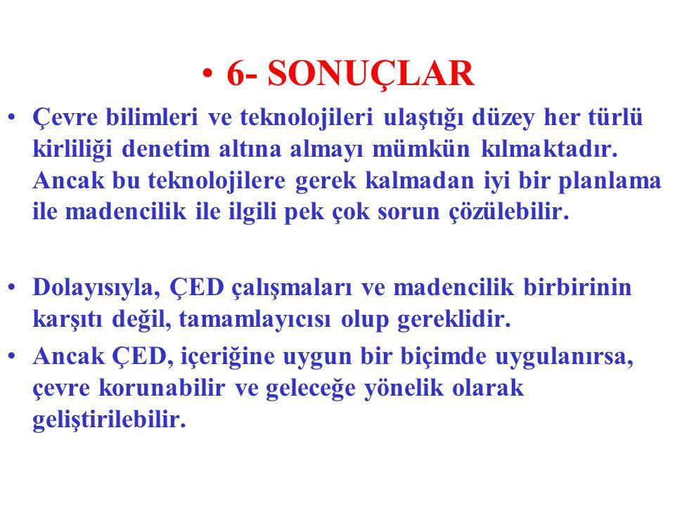 6- SONUÇLAR