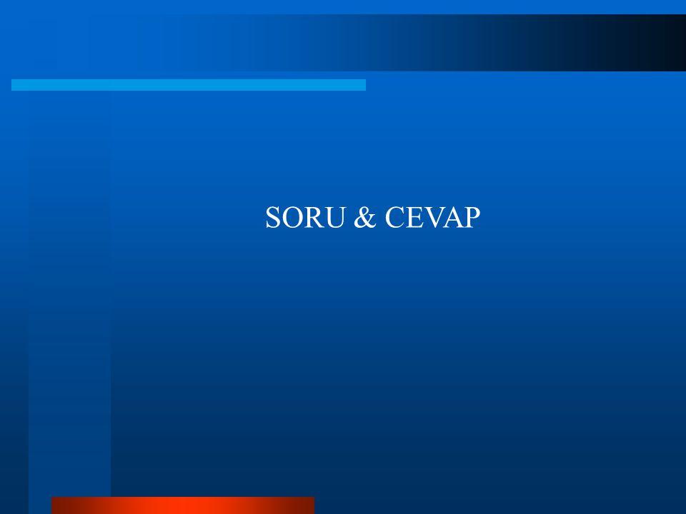 SORU & CEVAP