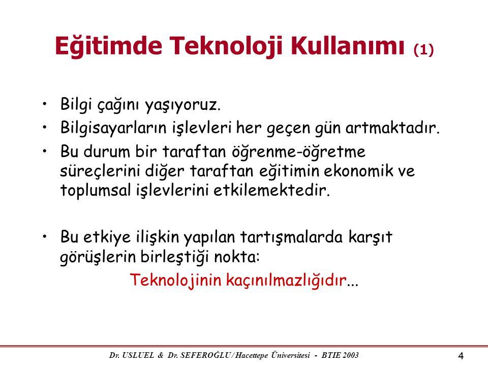 Eğitimde Teknoloji Kullanımı (1)