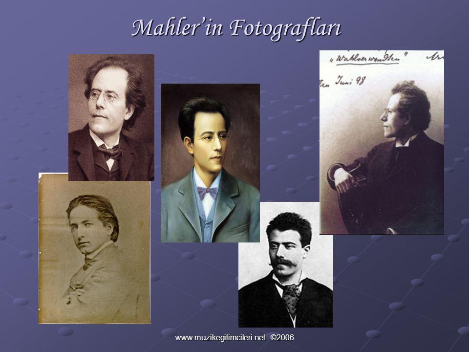 Mahler'in Fotografları