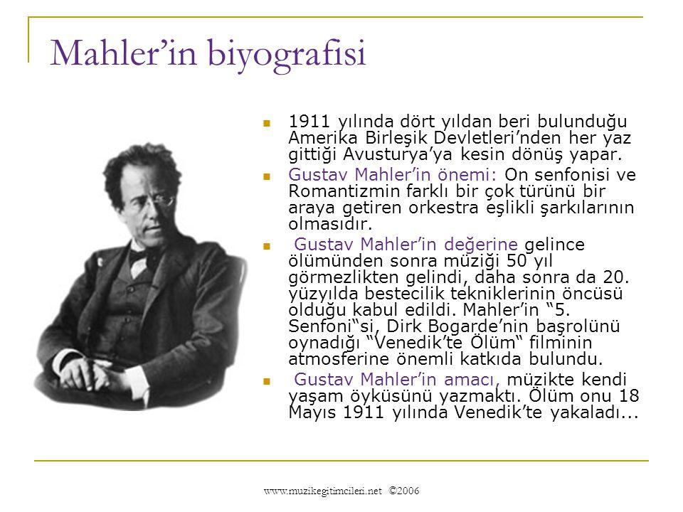 Mahler'in biyografisi