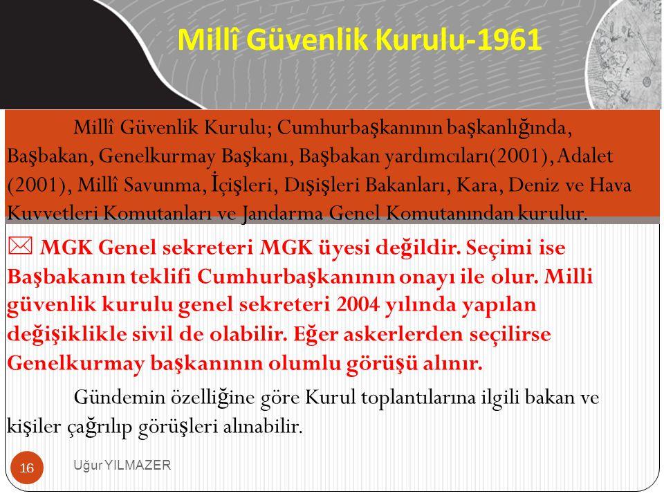 Millî Güvenlik Kurulu-1961