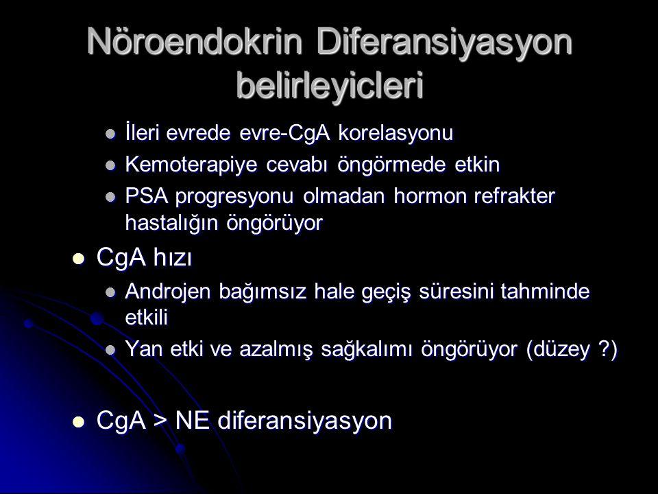 Nöroendokrin Diferansiyasyon belirleyicleri