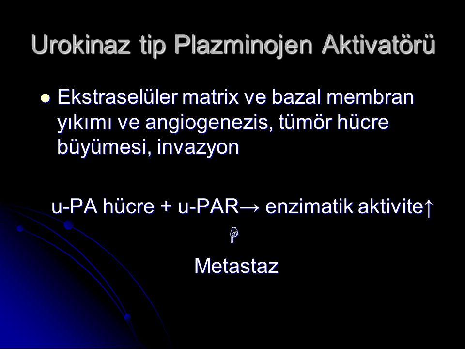 Urokinaz tip Plazminojen Aktivatörü