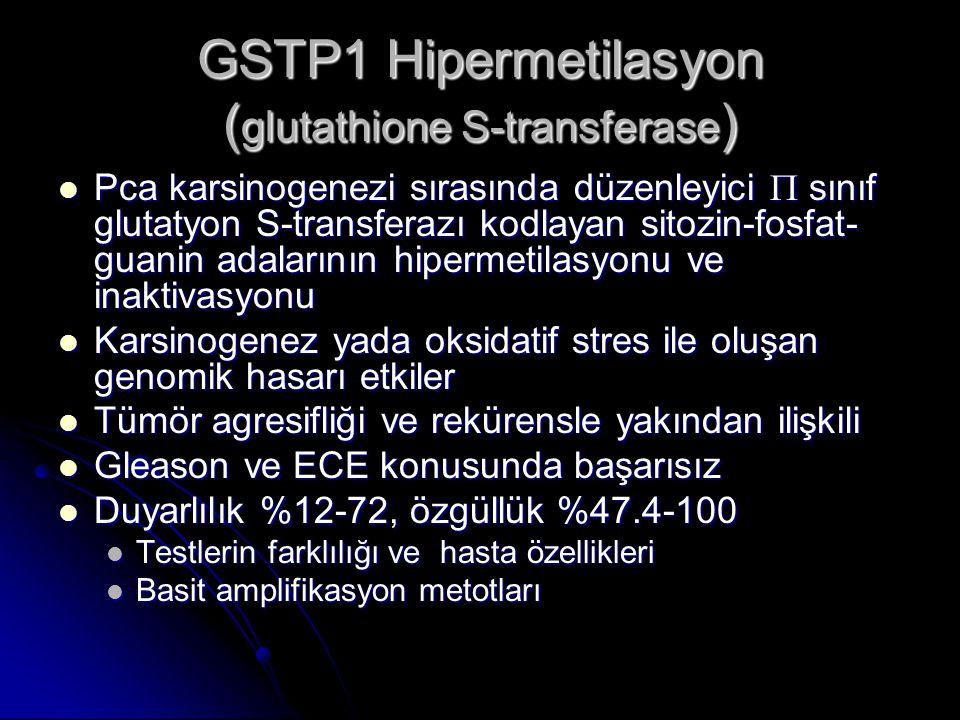 GSTP1 Hipermetilasyon (glutathione S-transferase)