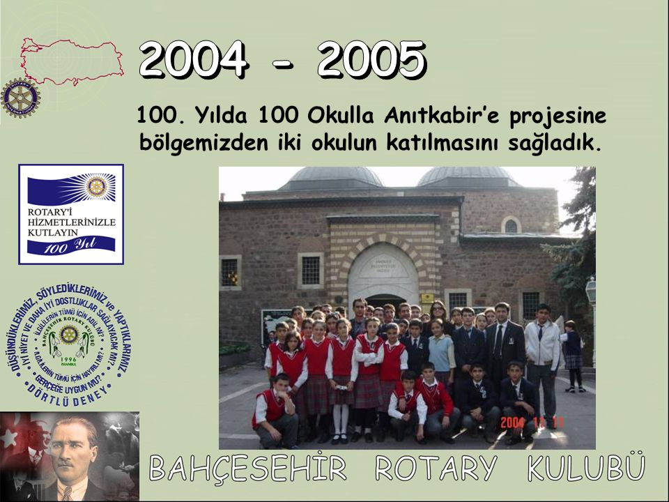 2004 - 2005 100.