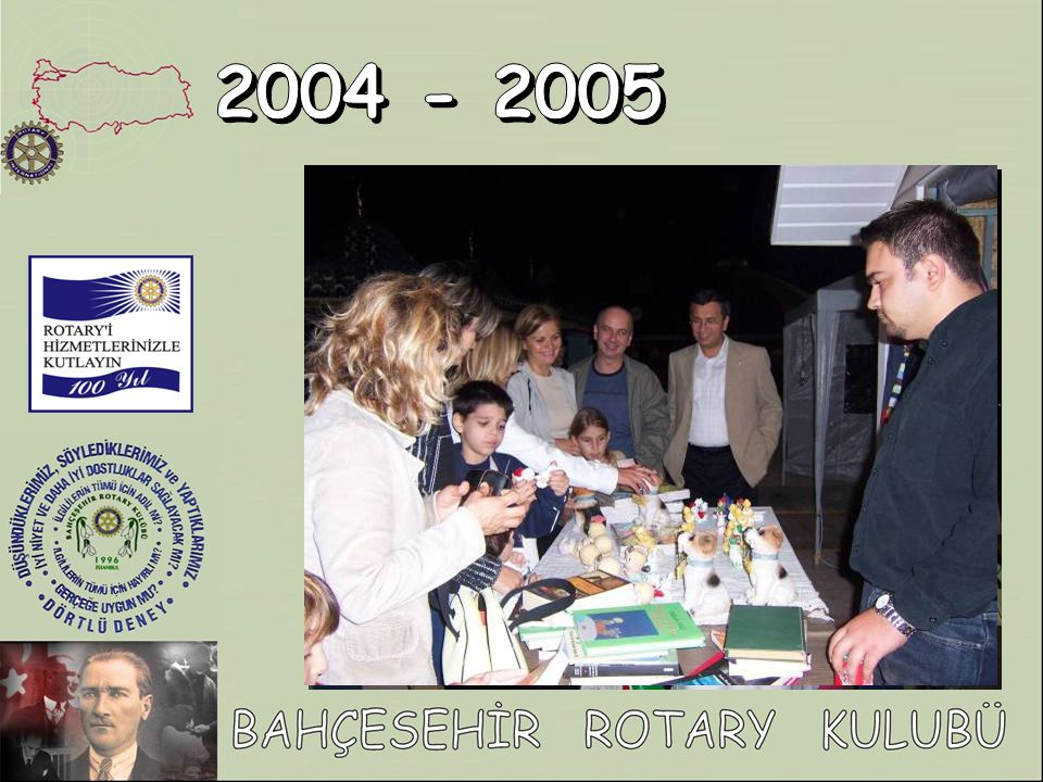 2004 - 2005 Rotaract kulübümüzün