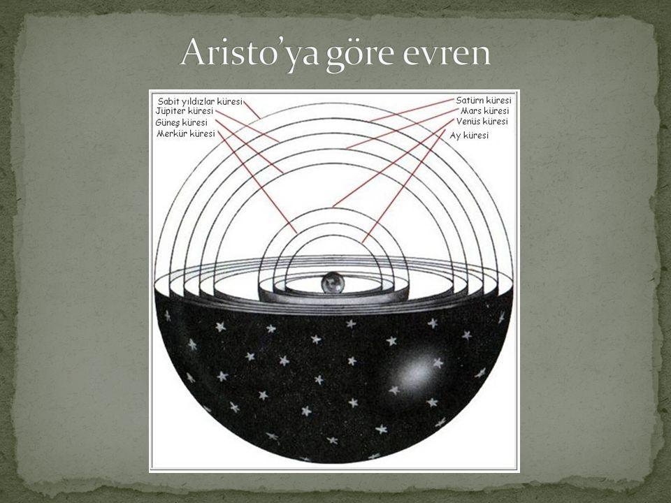 Aristo'ya göre evren