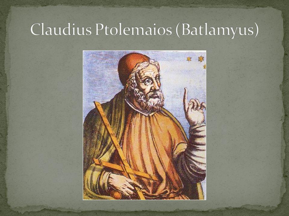 Claudius Ptolemaios (Batlamyus)