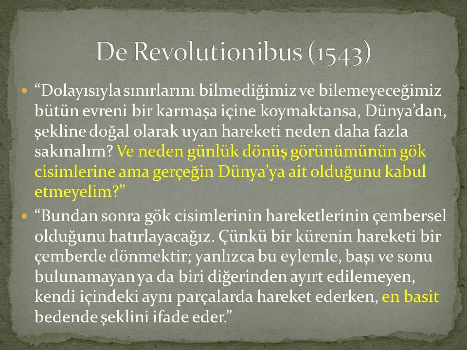 De Revolutionibus (1543)