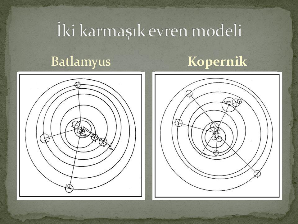 İki karmaşık evren modeli