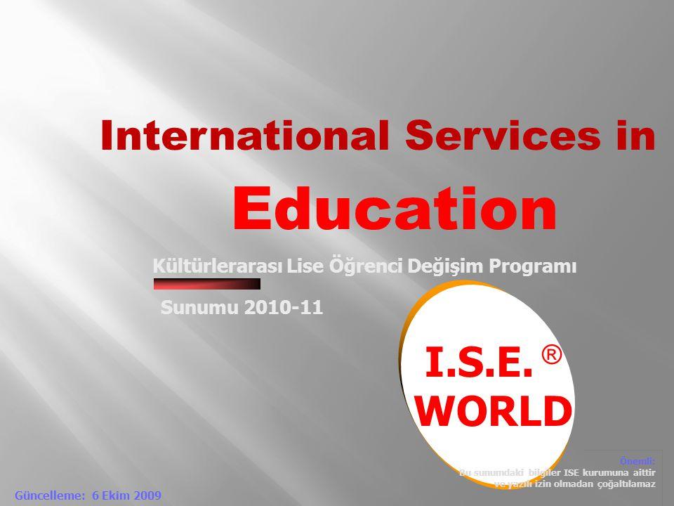 Kültürlerarası Lise Öğrenci Değişim Programı