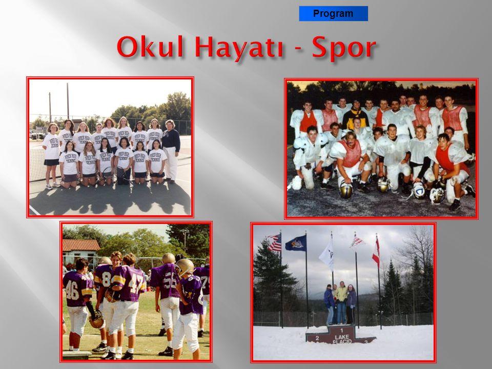 Program Okul Hayatı - Spor