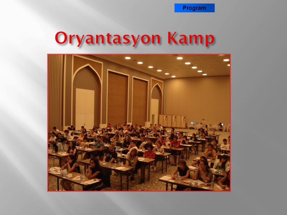 Program Oryantasyon Kamp