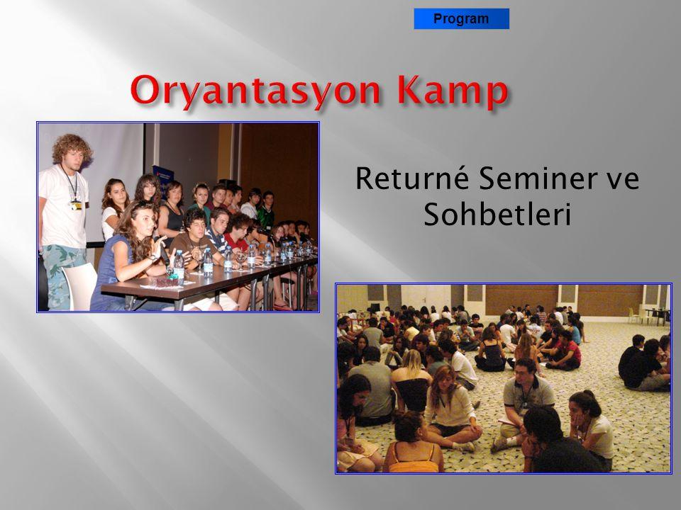 Returné Seminer ve Sohbetleri