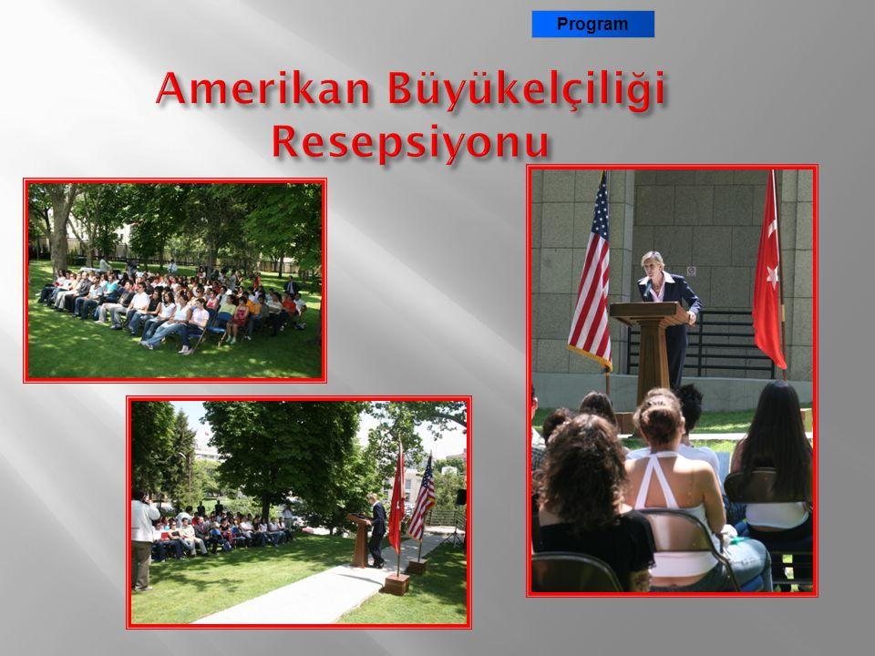 Amerikan Büyükelçiliği Resepsiyonu