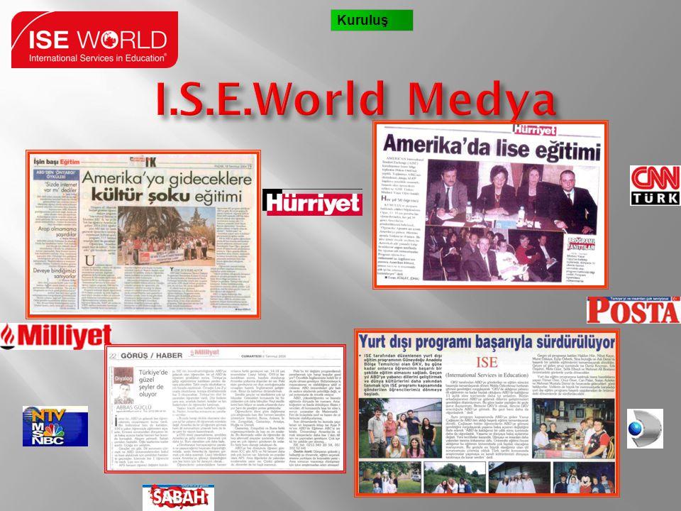 Kuruluş I.S.E.World Medya 6