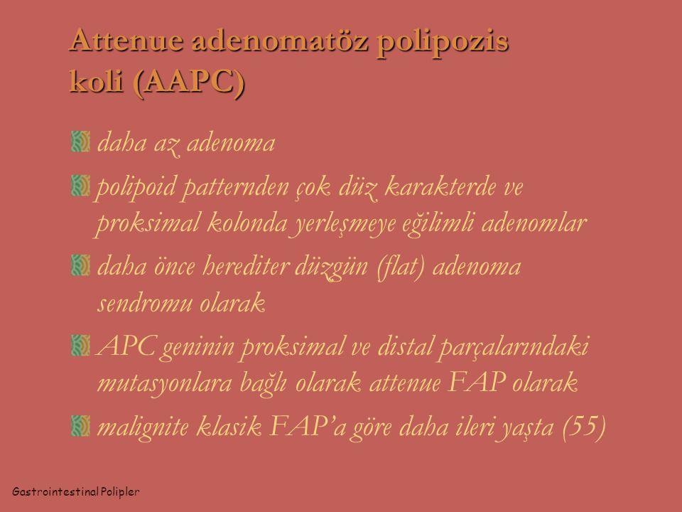 Attenue adenomatöz polipozis koli (AAPC)
