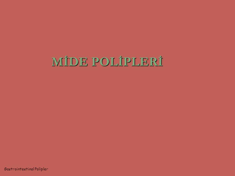 MİDE POLİPLERİ Gastrointestinal Polipler