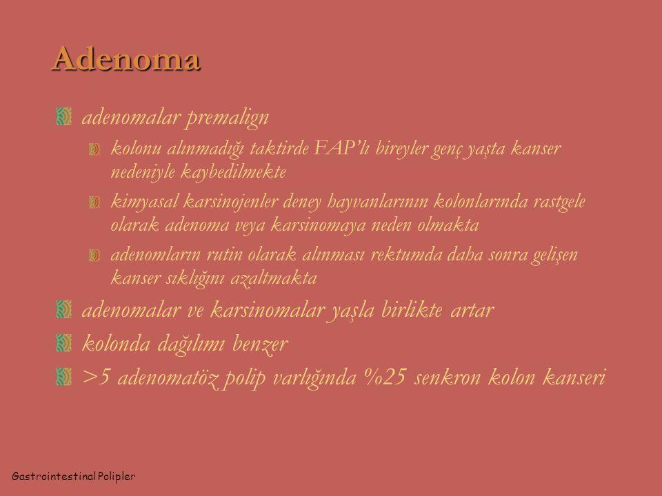Adenoma adenomalar premalign