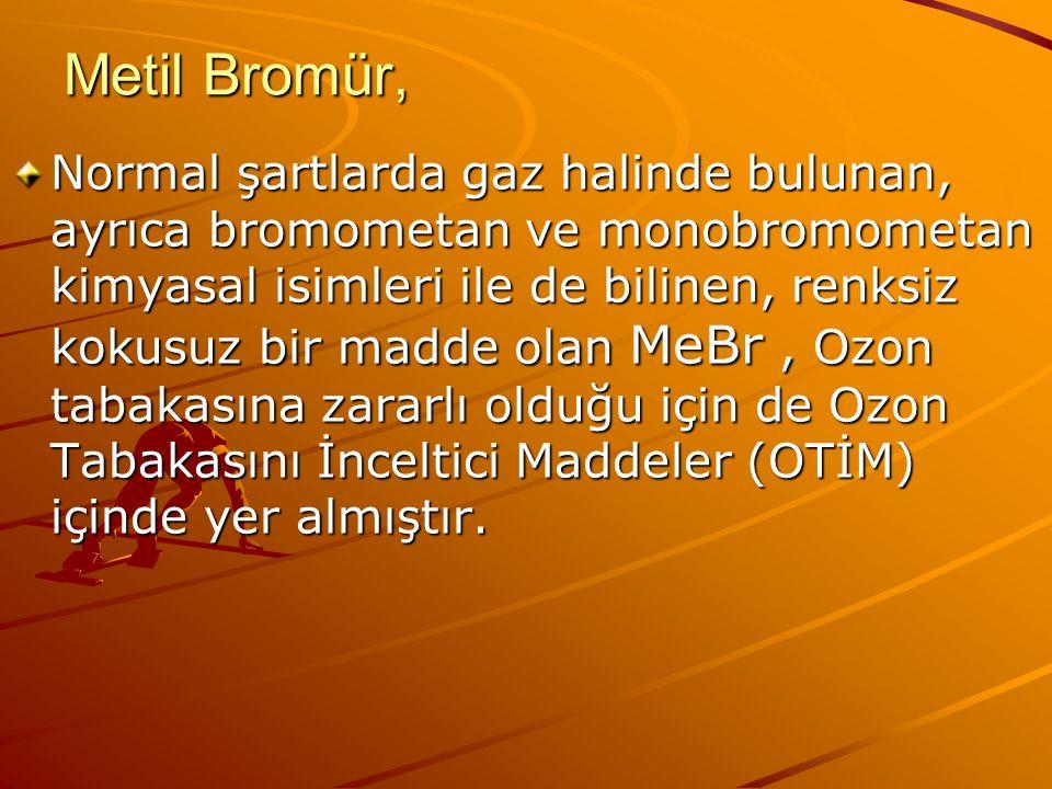 Metil Bromür,