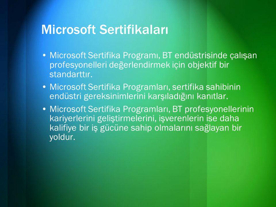 Microsoft Sertifikaları