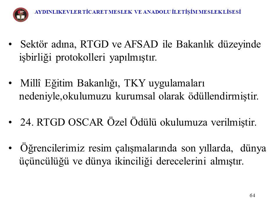 Sektör adına, RTGD ve AFSAD ile Bakanlık düzeyinde