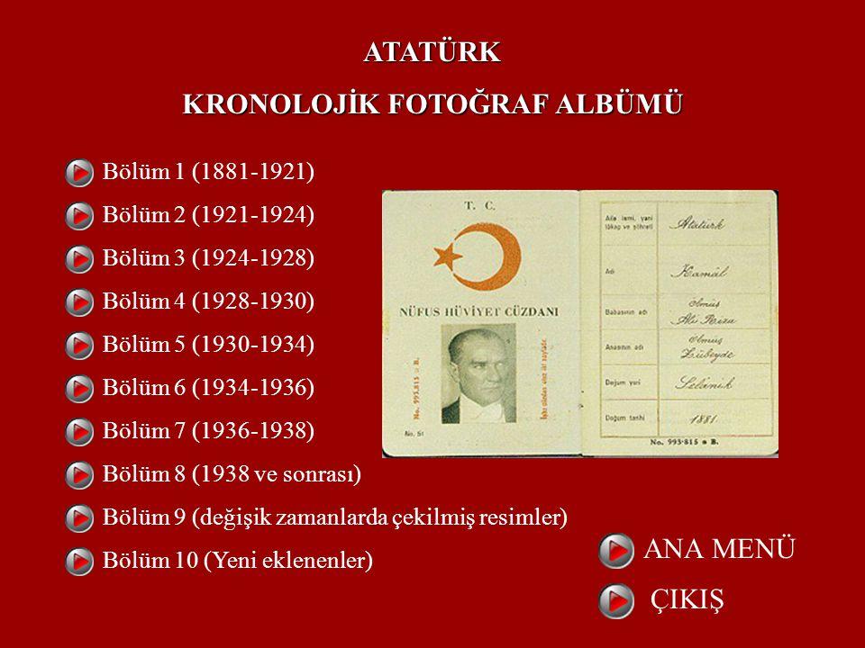 KRONOLOJİK FOTOĞRAF ALBÜMÜ