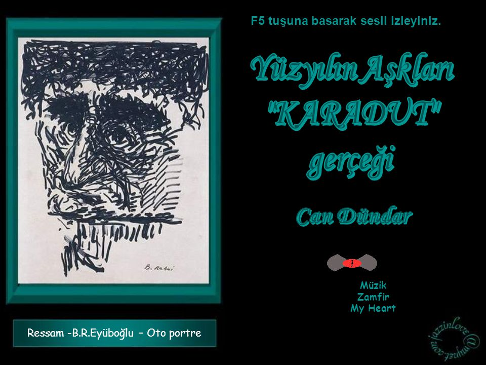 Ressam -B.R.Eyüboğlu – Oto portre