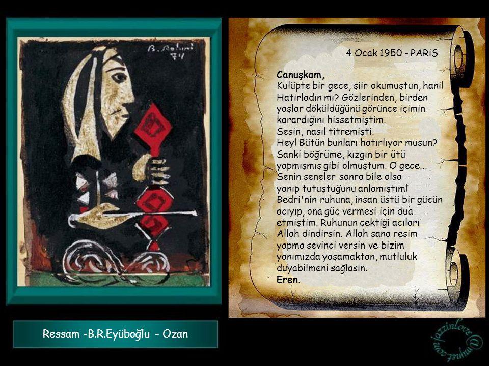 Ressam -B.R.Eyüboğlu - Ozan