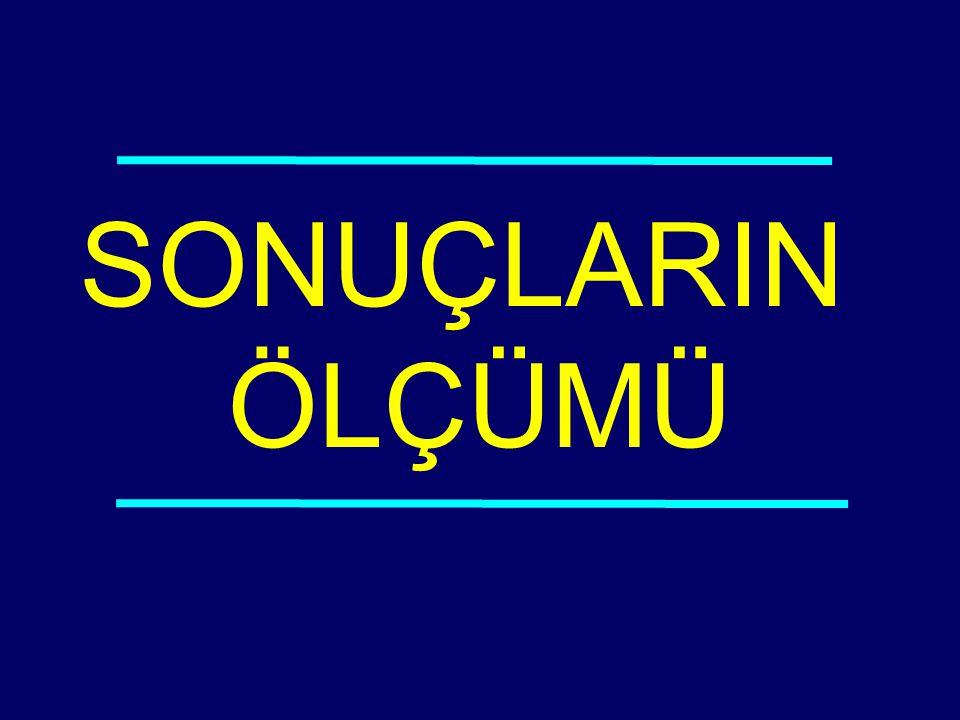 03-116 SONUÇLARIN ÖLÇÜMÜ