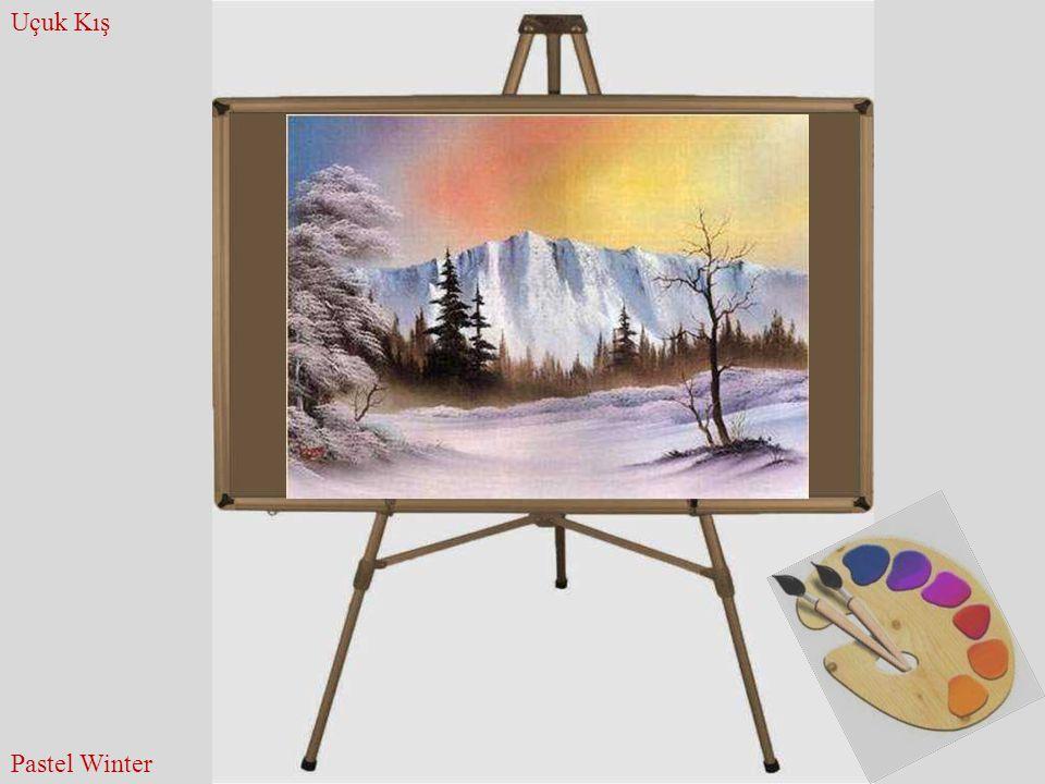 Uçuk Kış Pastel Winter