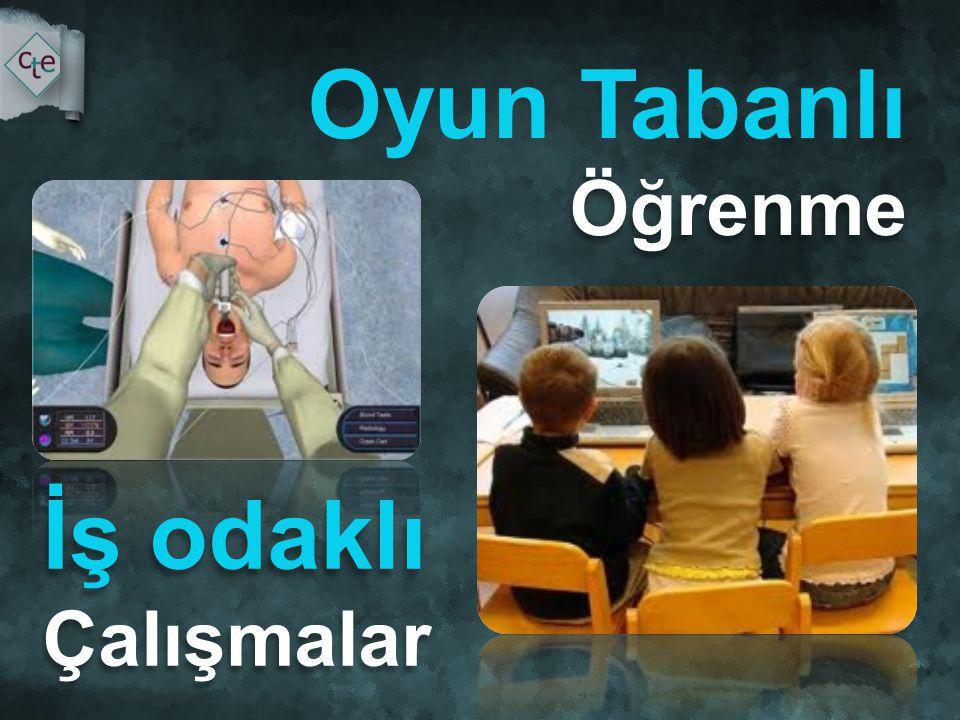 Oyun Tabanlı Öğrenme İş odaklı Çalışmalar