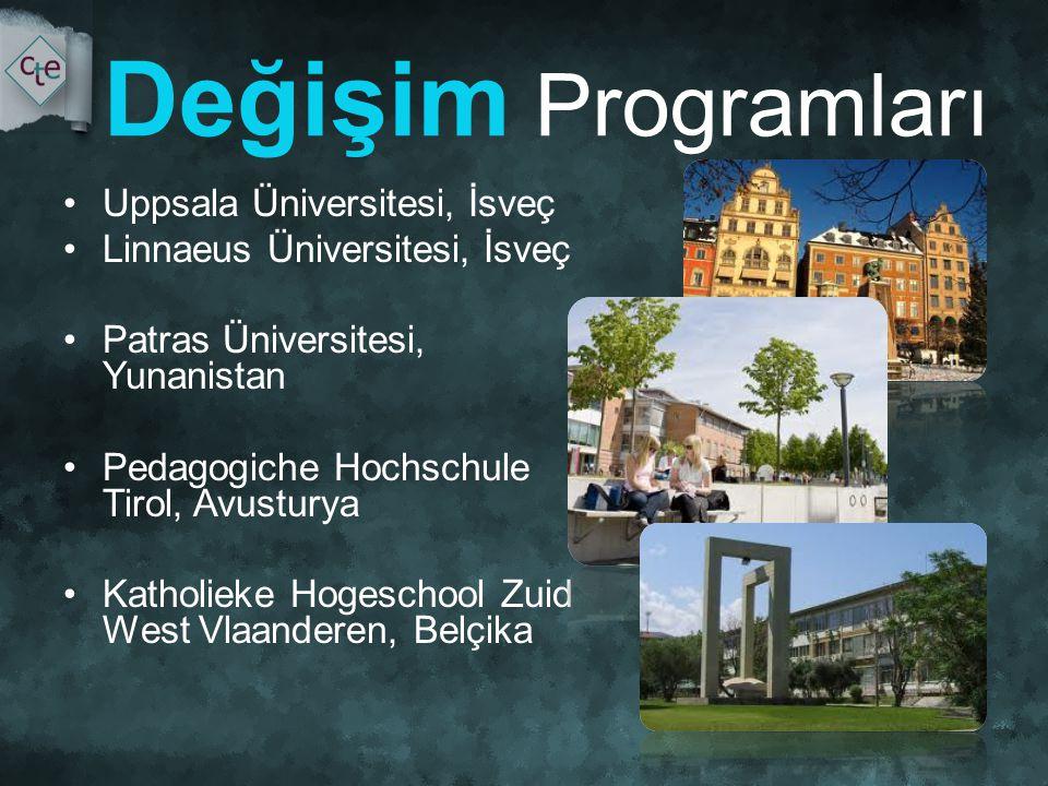Değişim Programları Uppsala Üniversitesi, İsveç