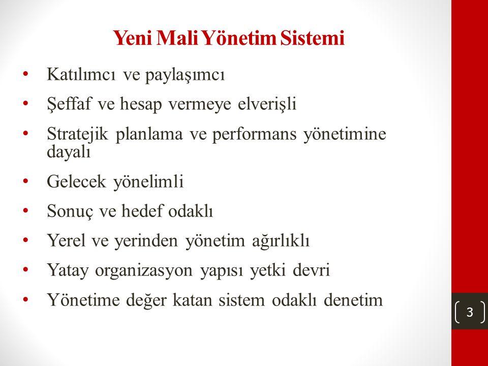 Yeni Mali Yönetim Sistemi