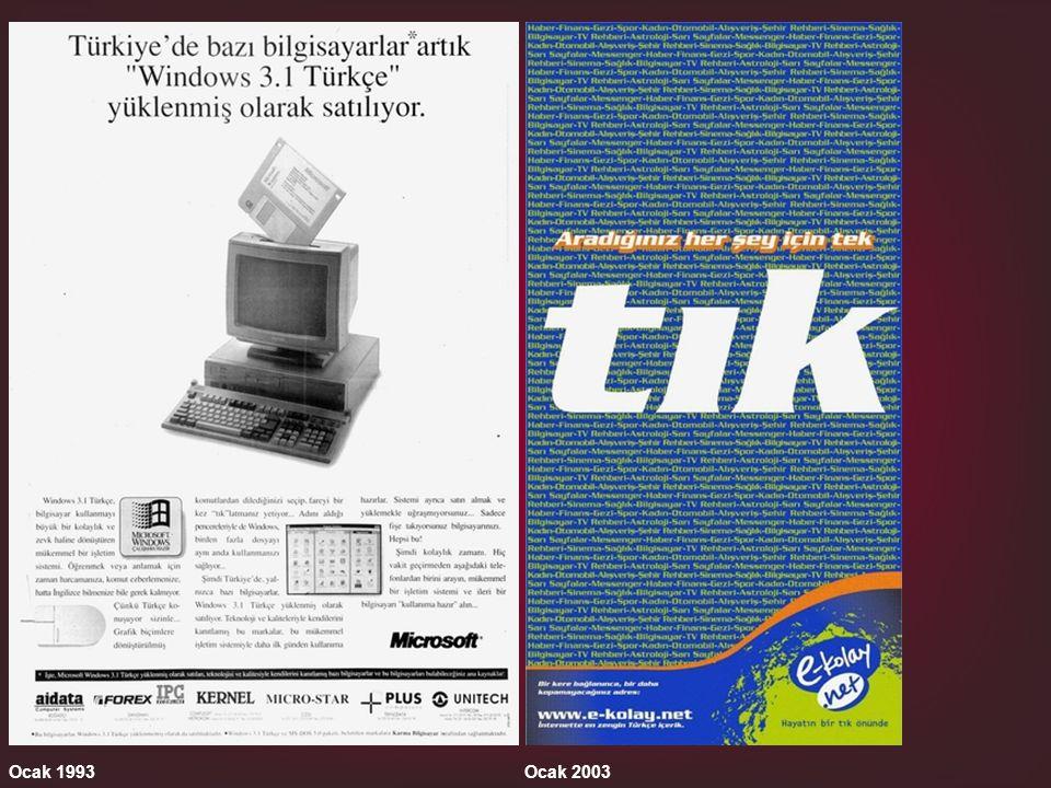 Ocak 1993 Ocak 2003