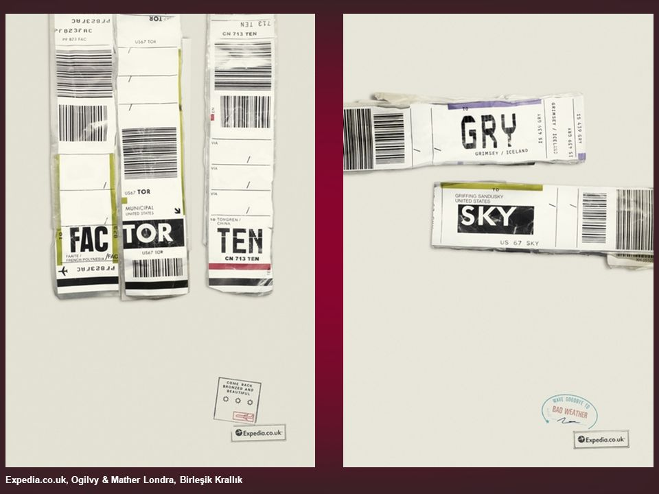 Expedia.co.uk, Ogilvy & Mather Londra, Birleşik Krallık