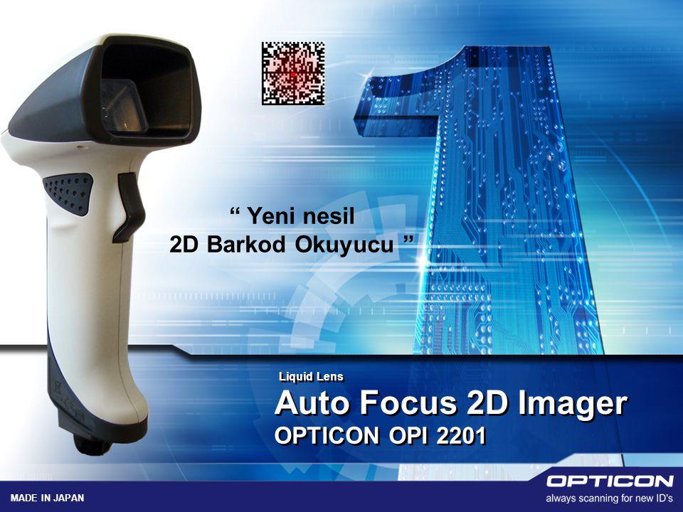 Auto Focus 2D Imager Yeni nesil 2D Barkod Okuyucu OPTICON OPI 2201