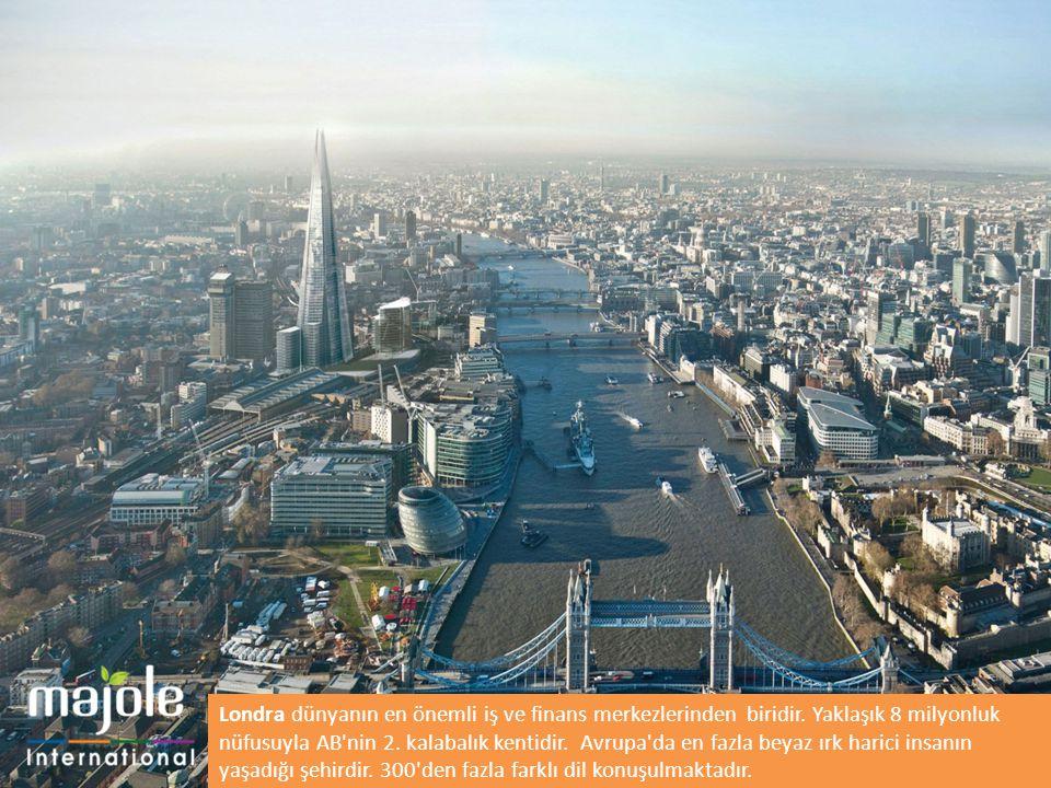 Londra dünyanın en önemli iş ve finans merkezlerinden biridir
