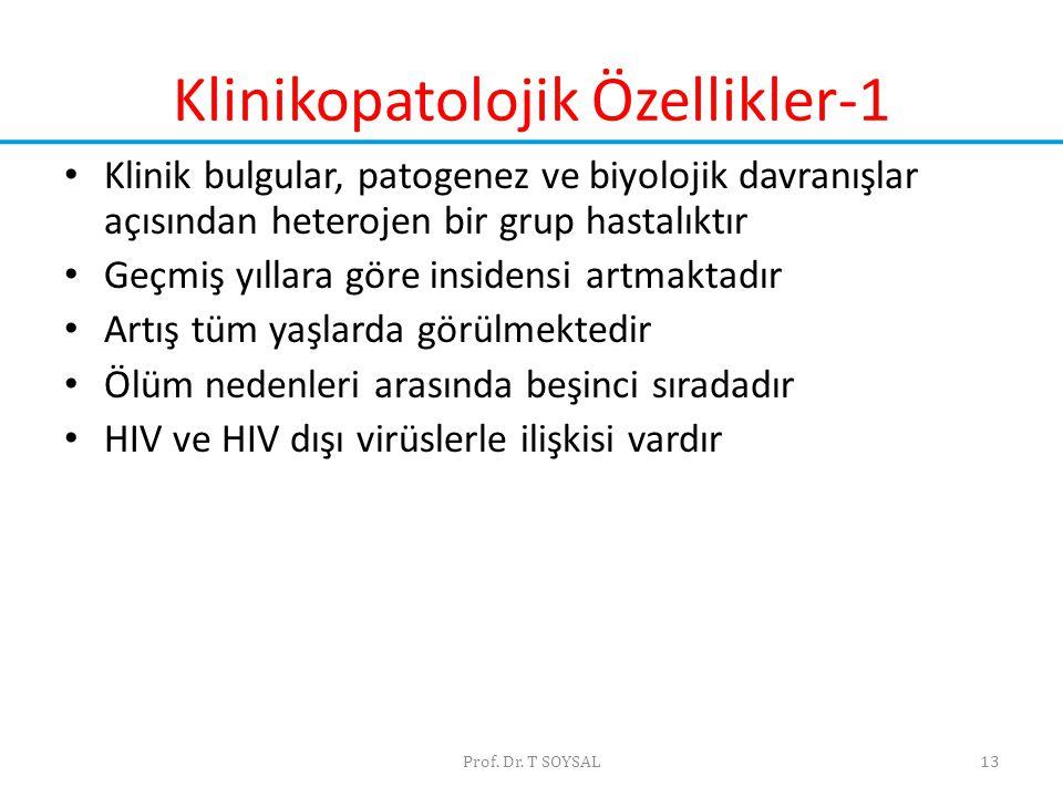 Klinikopatolojik Özellikler-1