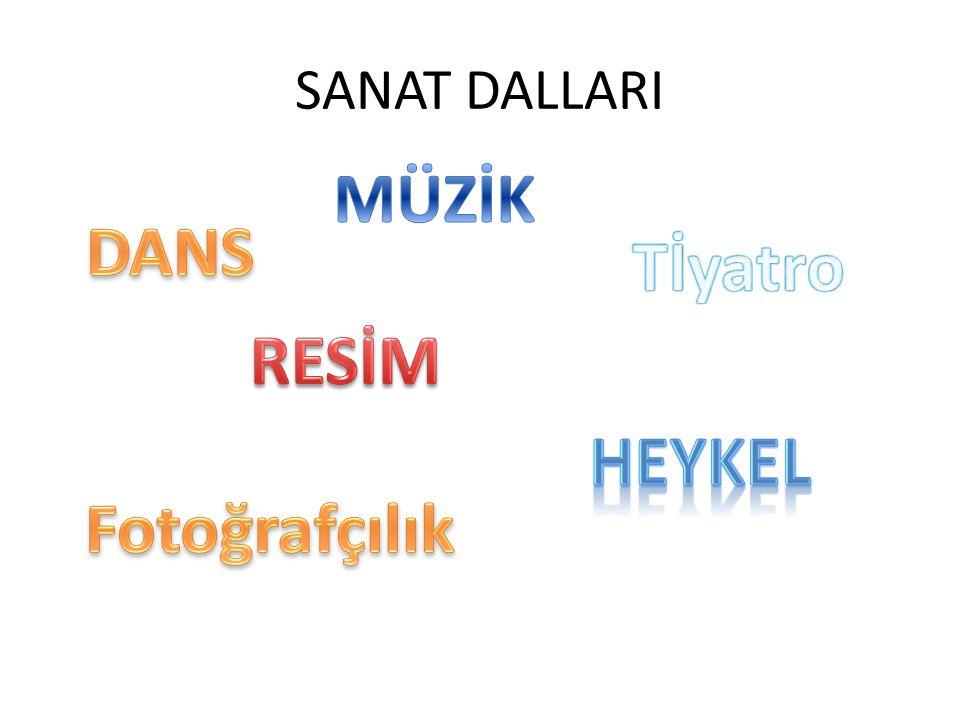 MÜZİK DANS Tİyatro RESİM HEYKEL Fotoğrafçılık