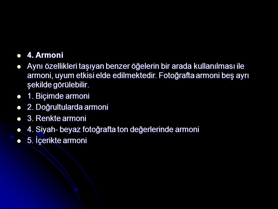 4. Armoni