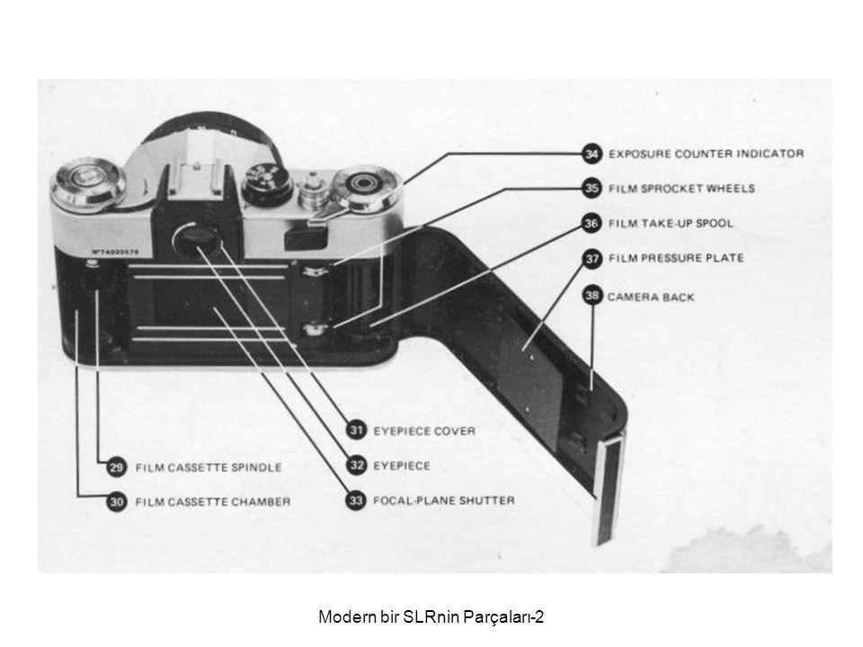 Modern bir SLRnin Parçaları-2