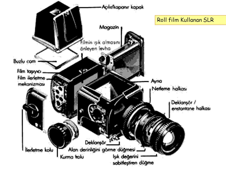 Roll film Kullanan SLR
