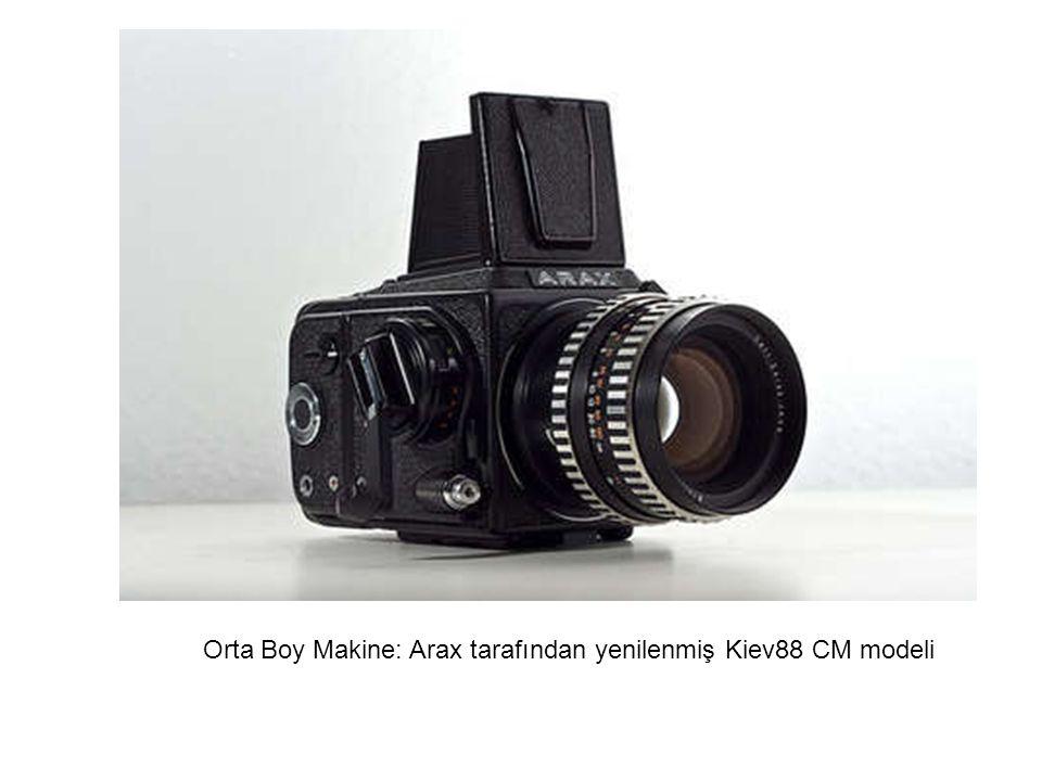 Orta Boy Makine: Arax tarafından yenilenmiş Kiev88 CM modeli